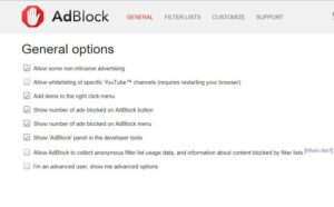 adblock extension free for chrome extension