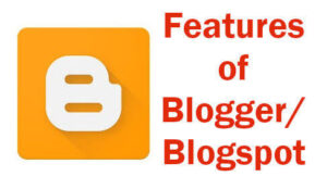 features of blogger image