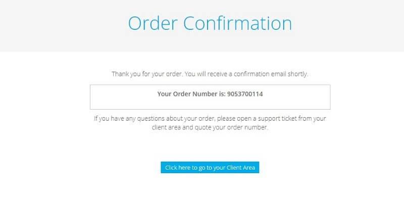 freenom order confirmation number