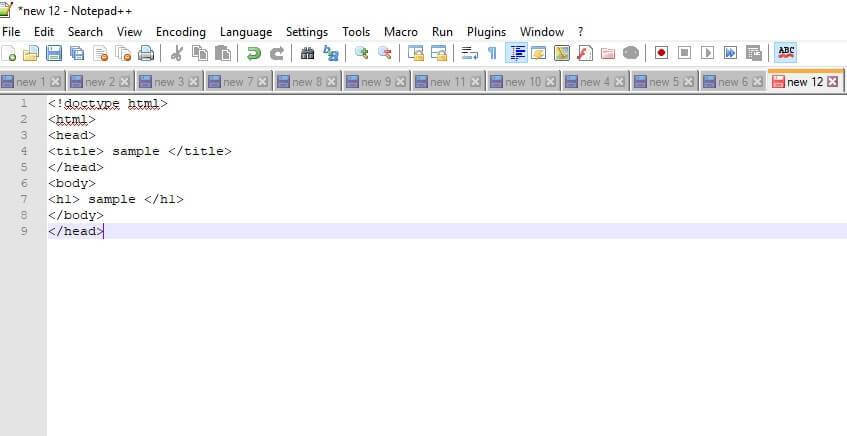 Notepad++ best text editor