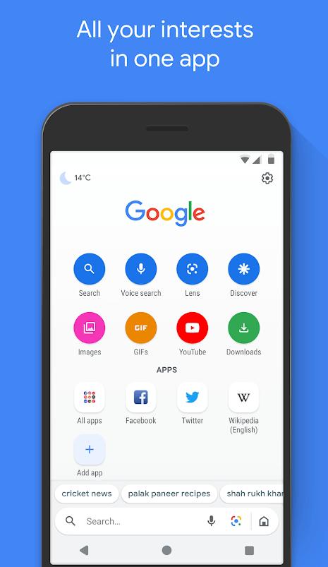 google go interests app