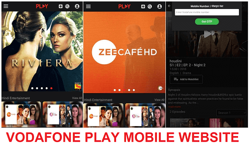 vodafone play mobile website