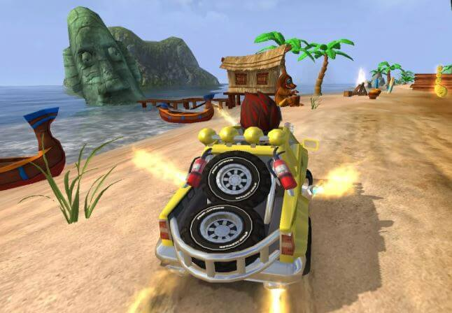 Beach Buggy Car Racing Game